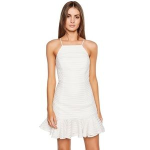 NWT Bardot Piper Mini Dress in Ivory White